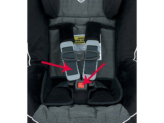 Britax Harness & Buckle Set - Black